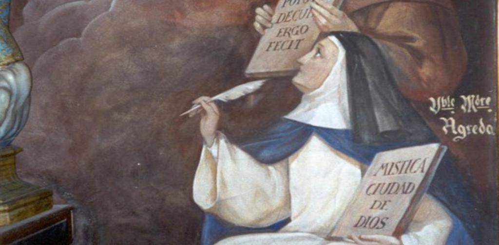 María Ágreda Mística ciudad de Dios