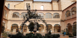 Monasterio en La Puebla de Moltanván