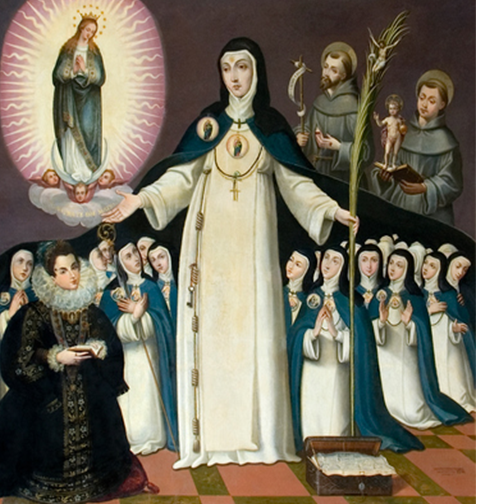 Santa Beatriz de Silva y la Orden de la Inmaculada Concepción