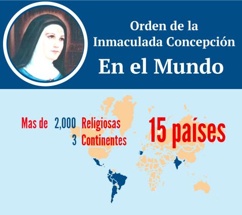 Orden de la Inmaculada Concepción por el mundo