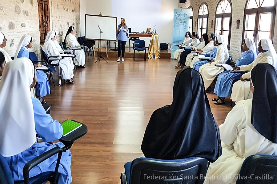ción a religiosas Concepcionistas Franciscanas