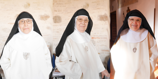 Rostros de religiosas Concepcionistas Franciscanas