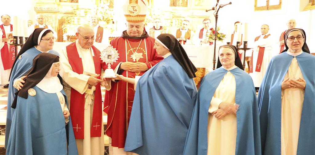 eucaristia accion de gracias por beatificacion martires concepcionistas