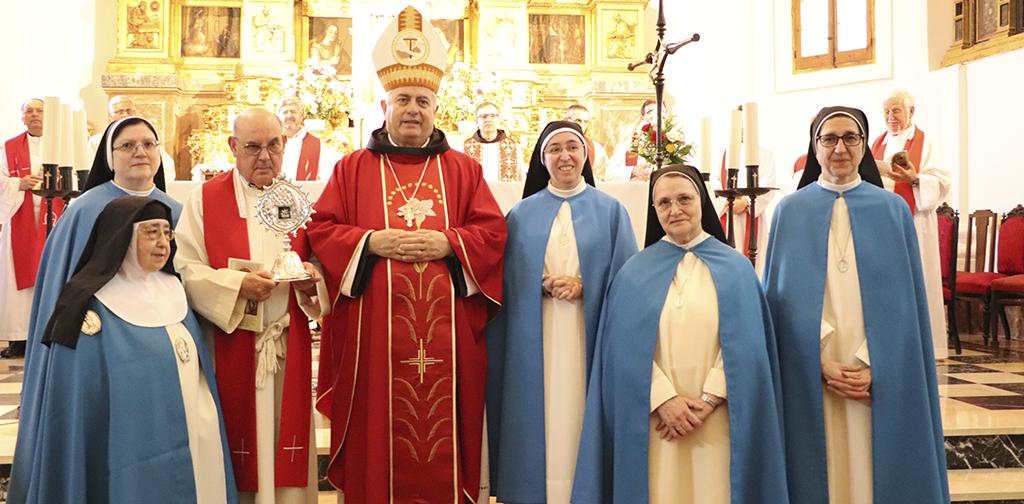 martires concepcionistas beatas eucaristia de accion de gracias